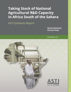 ASTI africa report Nov 2014 2