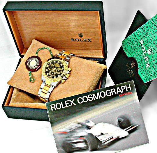 Originalfoto ROLEX-DAYTONA-COSMOGRAPH DIAM STG TOPUHR NEUZ PORTOFREI