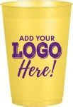 16oz Smooth Stadium Cups   Custom Promotional Stadium Cups