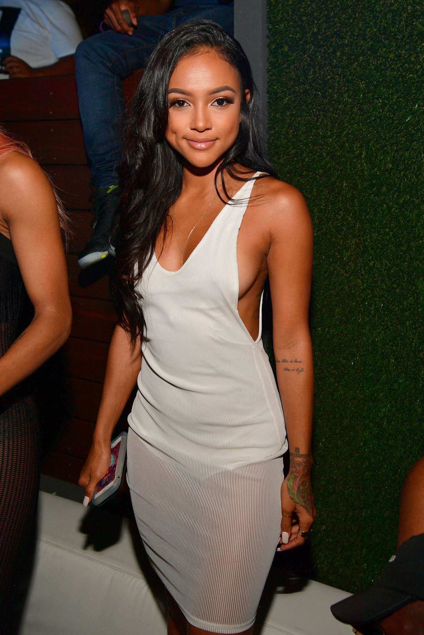 Karrueche Tran – Celebrates 'Ludaday Weekend Takeover' in Atlanta