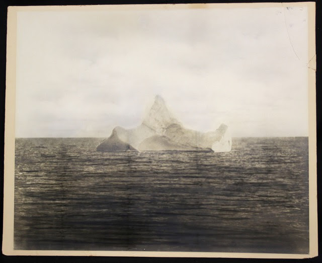 http://kottke.org/15/10/a-photo-of-the-iceberg-that-sank-the-titanic