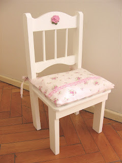 Shabbysilvia muebles rom nticos sillas y mesas infantiles for Muebles romanticos blancos