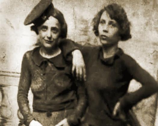 """إديث بياف وصديقتها سيمون """"مومون"""""""