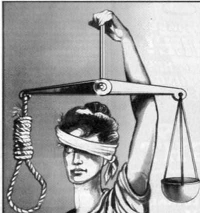 Justice w noose