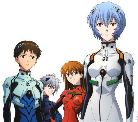 Neon Genesis Evangelion Asuka Langley Soryu Rei Ayanami