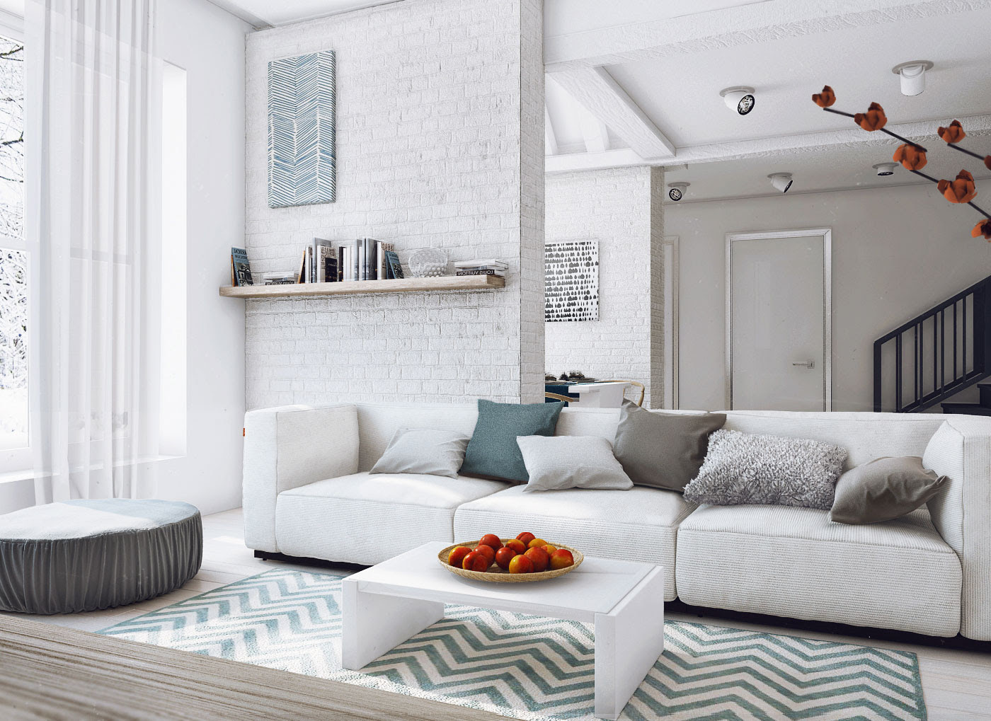 Loft Style Country House by Angelina Alexeeva   HomeDSGN, a daily ...