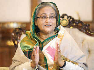 Prime Minister Sheikh Hasina and her family members faced the risk of being massacred but were saved by a group of Indian soldiers.