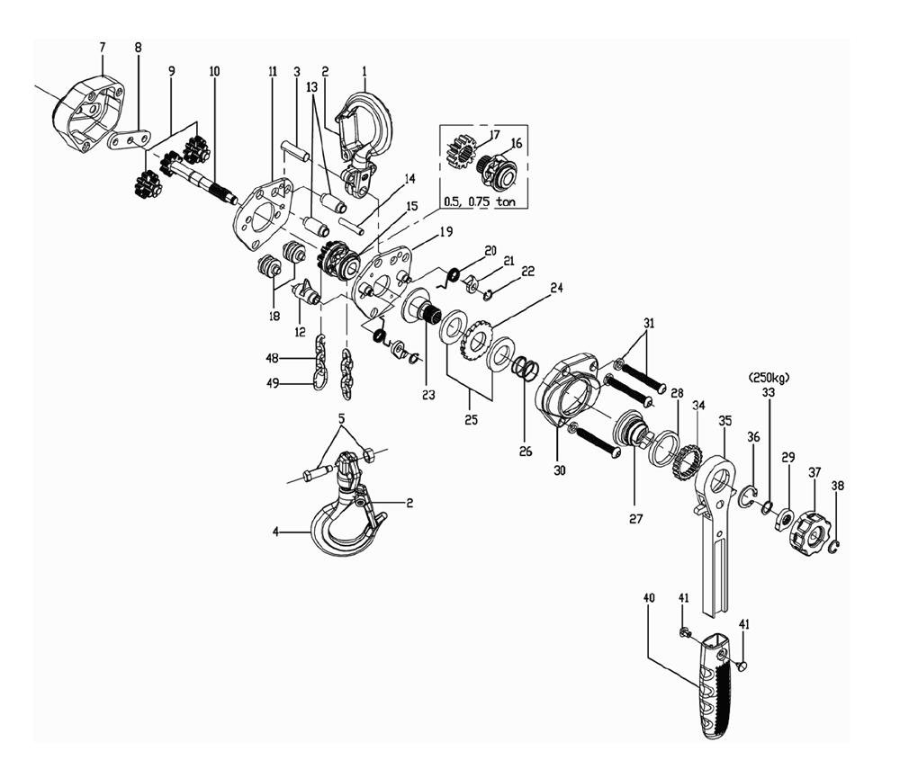 Wiring Diagram  32 Coffing Hoist Wiring Diagram