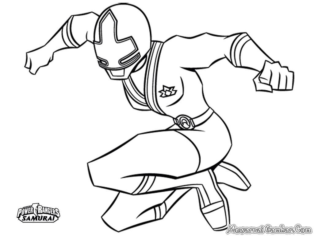 Download Kumpulan Sketsa Gambar Kartun Power Rangers