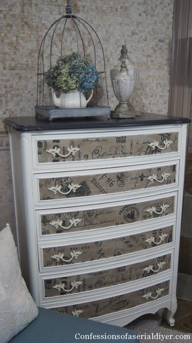 Fabric Inlay Dresser