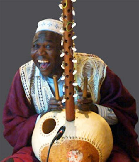 Seikou Susso   Master kora, or African harp, player from