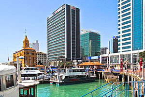 English: Auckland Waterfront, New Zealand