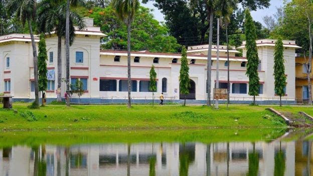 A shot of Murari Chand University College, where Khadiza Begum was stabbed