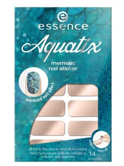 essence aquatix – mermaid nail sticker.