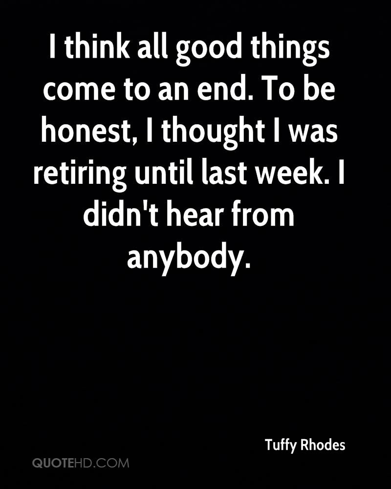 Tuffy Rhodes Quotes Quotehd