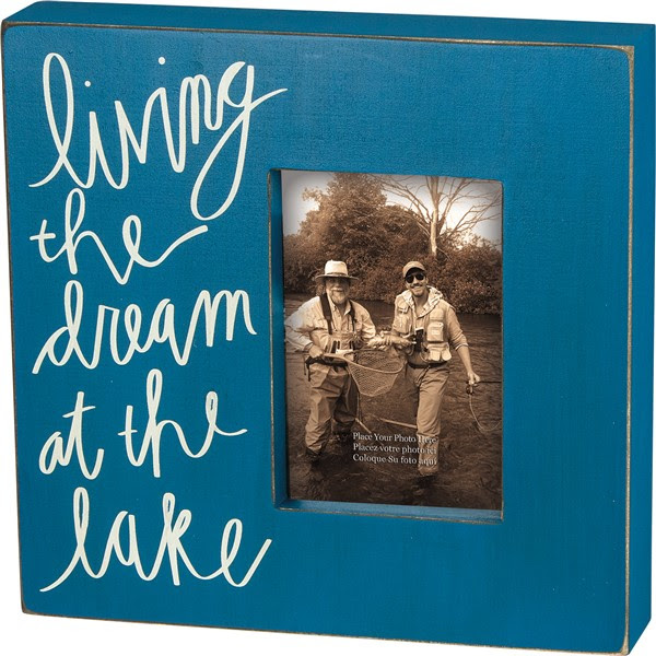 Primitives By Kathy At The Lake Box Frame 24134