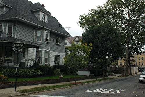 284 Stratford Road (left) and 16 Slocum Place (middle)