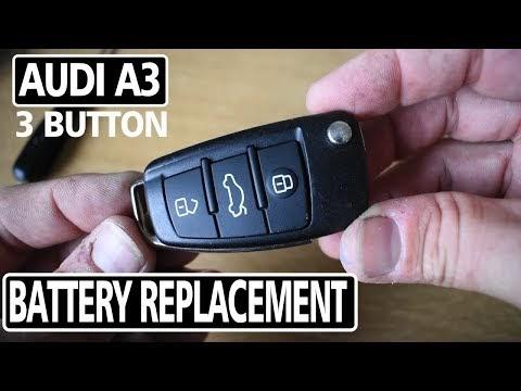 Audi A3 Car Key Battery Change Newest - Mawor Mp3