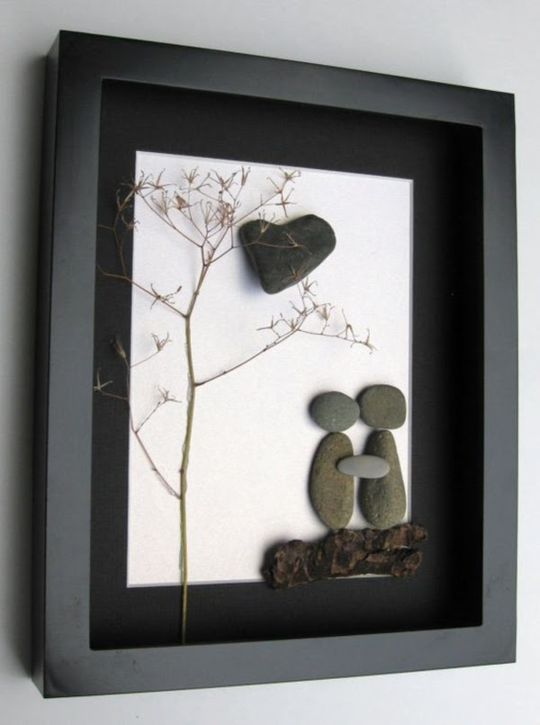 Handy Rock And Pebble Art Ideas For Many Uses35