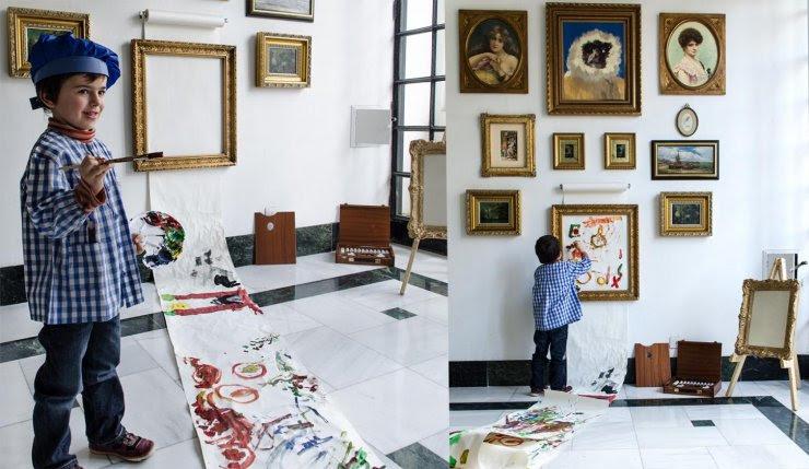 Frame for kids art