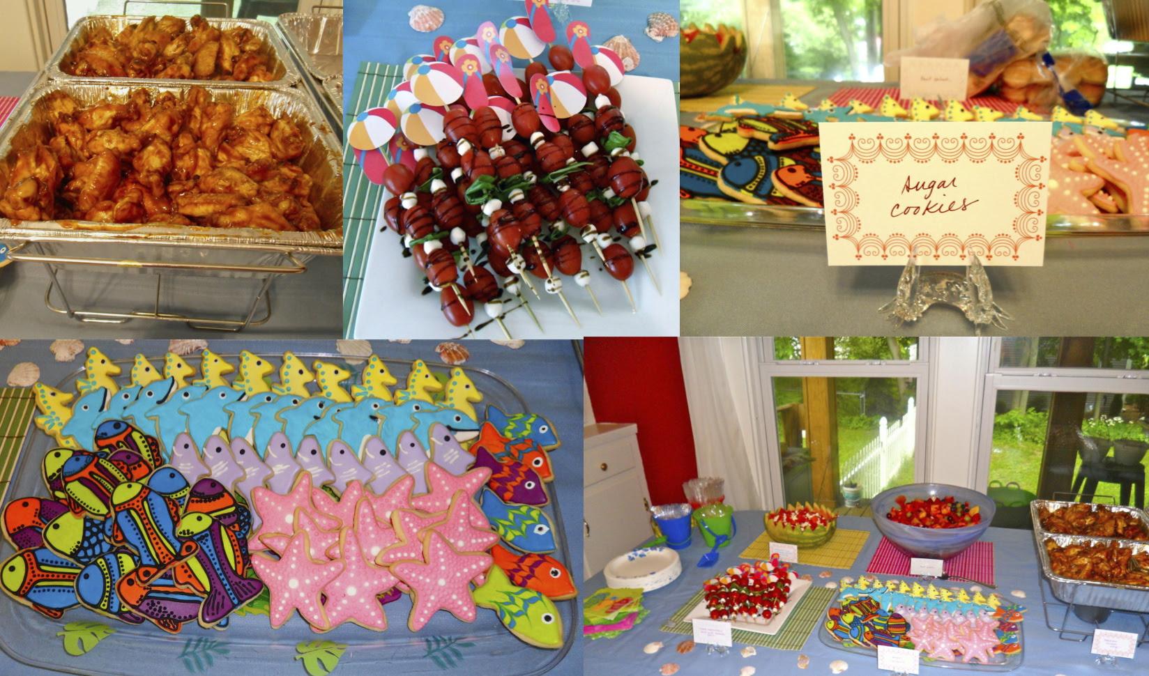 Backyard Beach Party Ideas
