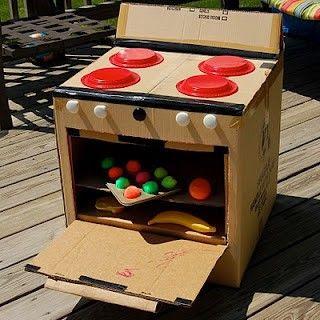 Fun cardboard crafts