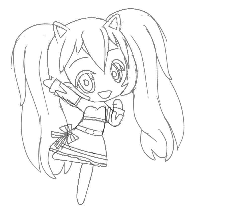 Gacha Life Printable Coloring Pages Super Kins Author