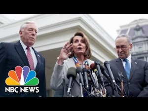Democratic Leaders Speak After Meeting With President
