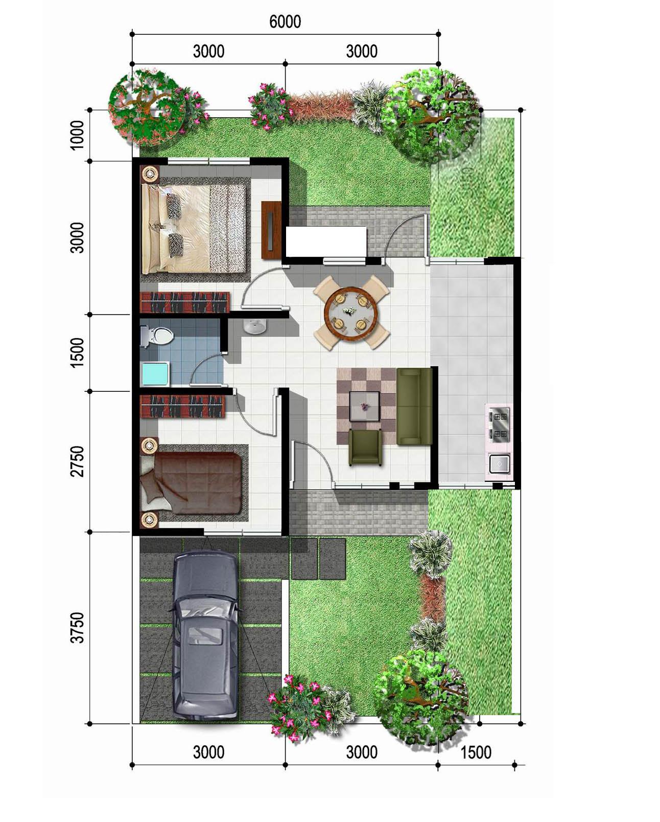 Denver Artinya: Gambar Design Rumah Type 36 2 Lantai