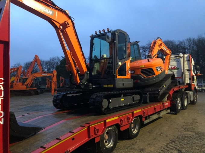 Doosan Deliveries Across South Wales oleh - distributorbekominihitachi.xyz