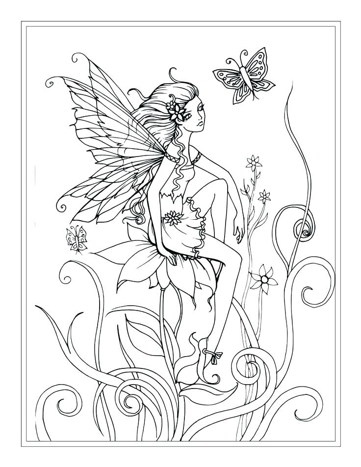 Tooth Fairy Coloring Pages To Print at GetColorings.com ...