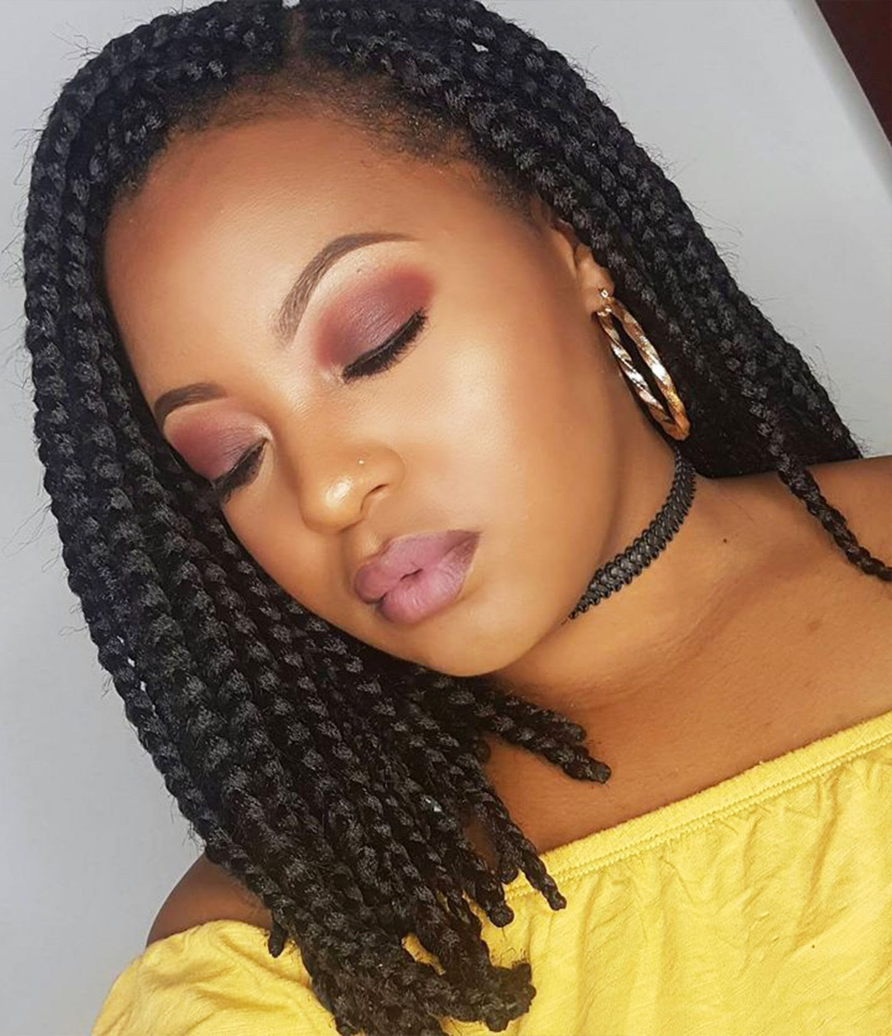 14 Dashing Box Braids Bob Hairstyles for Women - New Natural ...
