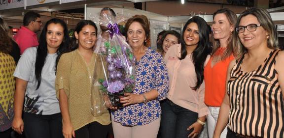 Governadora visita Ficro 2014 - Foto Carlos Costa