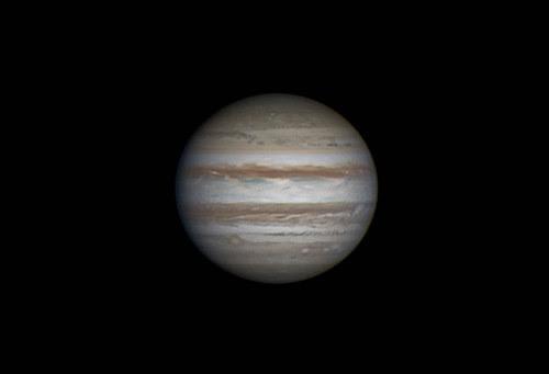 Jupiter LRGB 180214 - 20:19UT  - Winjupos by Mick Hyde