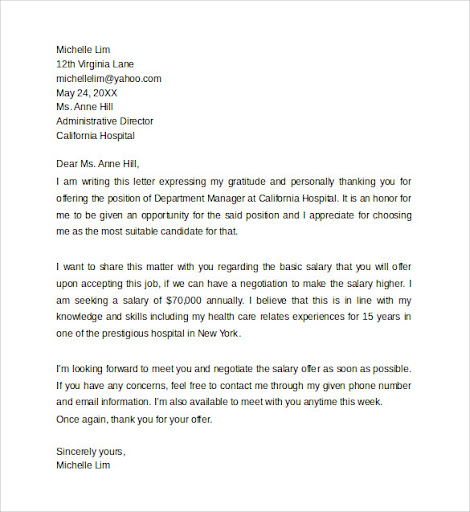 Writing A Counter Offer Letter For A Job from lh5.googleusercontent.com