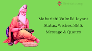 Maharishi Valmiki Quotes Images, Wishes, Message & Best Status
