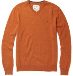 Aubin & Wills Merino Wool V-Neck Sweater