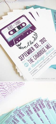 1000  ideas about Music Wedding Invitations on Pinterest