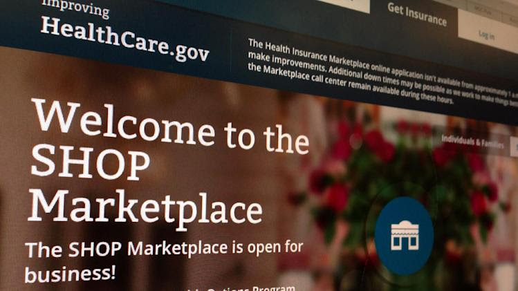 Latest health law delay: small business website - Yahoo News