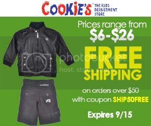 Take Free Shipping On Orders Over $50 on all Akademiks at Cookies Kids with coupon code SHIP50FREE!