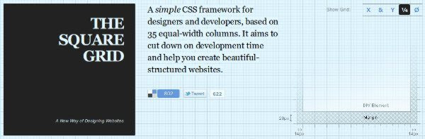 The Square Grid CSS Framework The Square Grid   Framework CSS