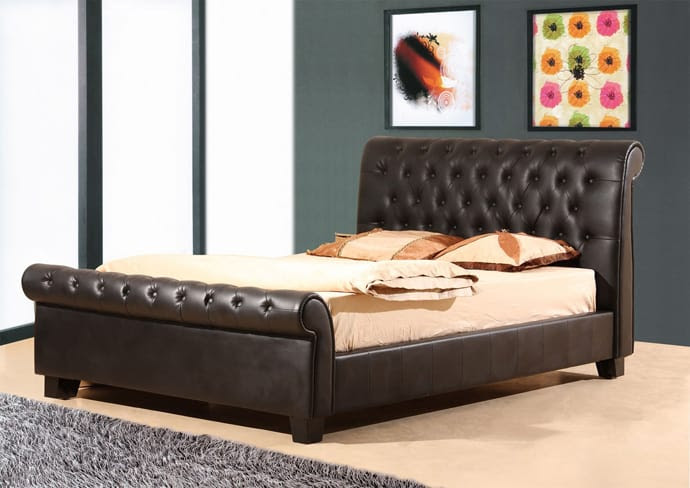5 Great Leather Beds to Spice Up Your Bedroom by Wedo | DesignRulz