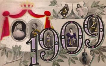 The Romanian Royal Family, 1909