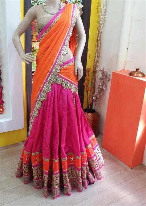 Saree ghagra how to wear pictures, Saree   Indian Sarees