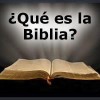 Resultado de imagen de ¿Qué es la Biblia?