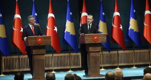 Η Τουρκία πρώτος χορηγός του «στρατού Κοσσυφοπεδίου»- Erdogan selam Thaçit për Ushtrinë! Mos prisni, ju bëjeni Ushtrinë, ne ju armatosim!