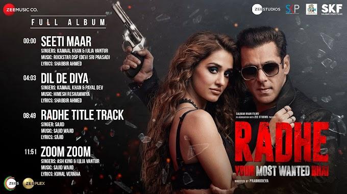 Radhe Zoom Zoom Song Lyrics - Salman Khan & Disha Patani | LYRICSADVANCE