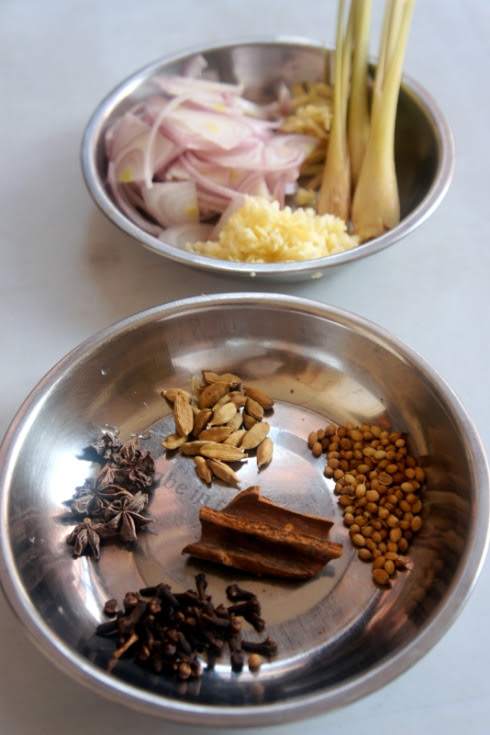 Spices for Bubur Lambuk