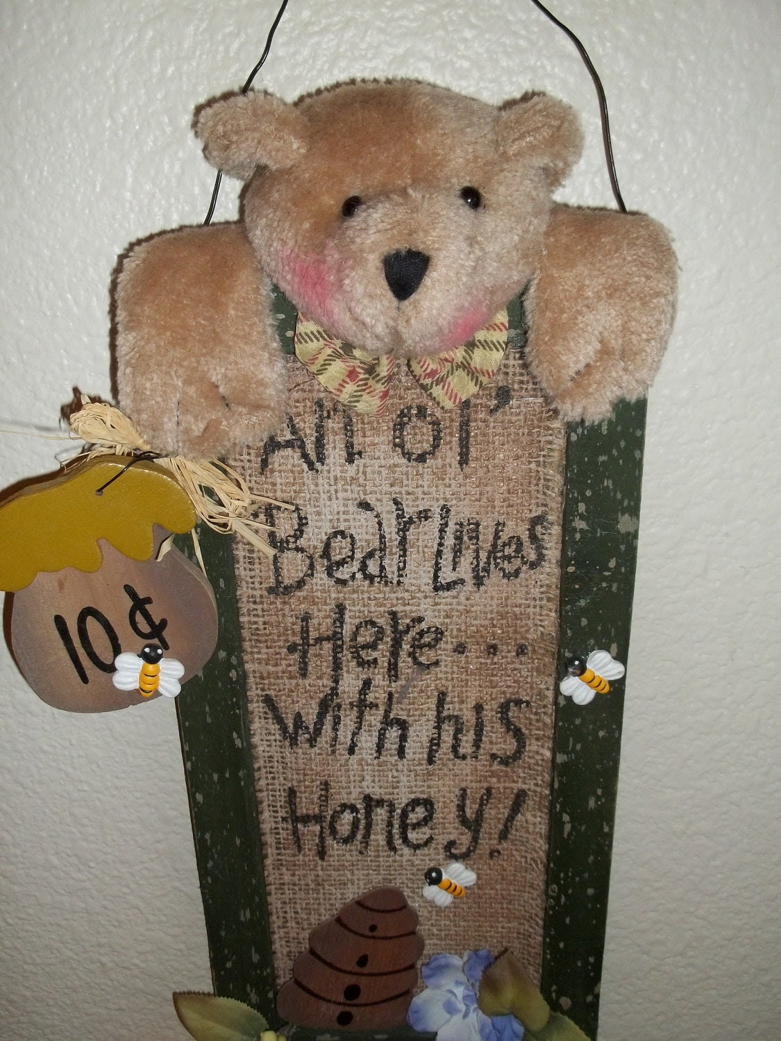 Popular items for country bears on Etsy