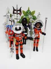 Four Horsemen Outer Space Men Chrome Accessories Set